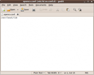 Installing OpenCV 2 2 in Ubuntu 11 04 – Sebastian Montabone