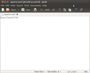 Installing OpenCV 2 4 1 in Ubuntu 12 04 LTS – Sebastian